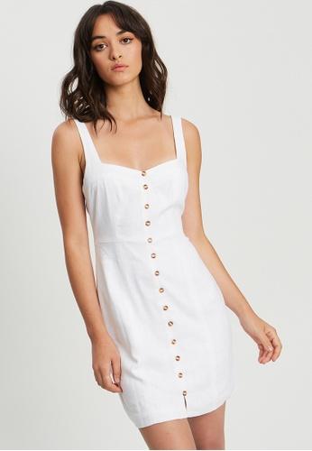 Tussah white Carrie Mini Dress 39F8AAA4A38AB5GS_1