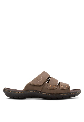Louis Cuppers brown Casual Sandals LO977SH44BALMY_1