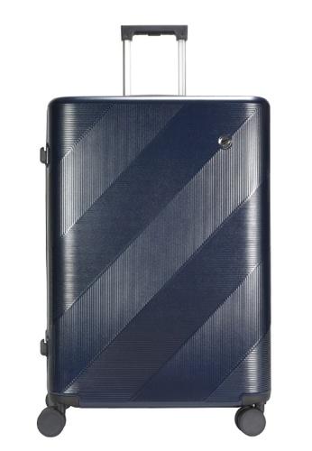 Airways blue Airways 28 inch 4 Wheels Trolley Hard Case - ATH 7913 NAVY E2E40AC2C6DE9BGS_1