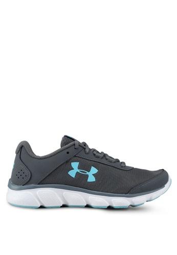 Under Armour grey UA W Micro G Assert 7 Running Shoes BC9D5SH46BAA7EGS_1