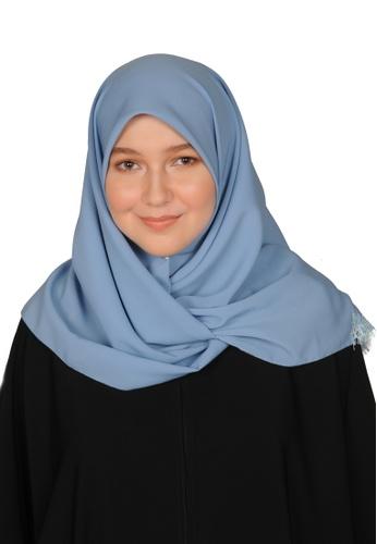 Bait Al Hijaab blue SQUARE SCARF IZDIHAR 7A176AA3AAF2C4GS_1