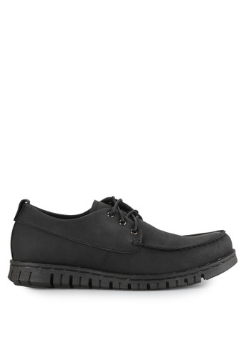 NIEL black Argust Synthetic Leather NI227SH0UOH6ID_1