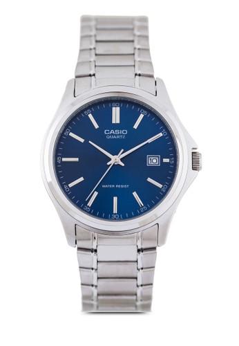 MTP-1esprit 寢具183A-2ADF 不銹鋼三指針圓錶, 錶類, 不銹鋼錶帶