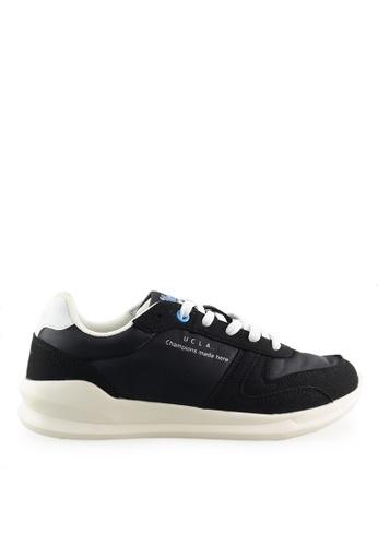 Footspot black UCLA Lace-up Sneakers 89845SH3E76321GS_1