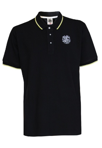 ULMT Unlimited black ULMT Unlimited Extra Large Polo Short Sleeve Tee 1XL-6XL Plus Size ULMT200002 (Black) 053DBAA62E7198GS_1