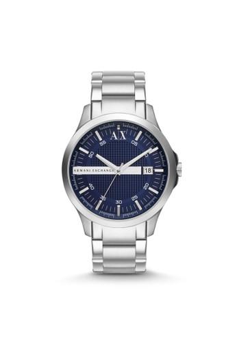 Hampton簡約風格鋼帶腕錶 AX21esprit taiwan32, 錶類, 紳士錶