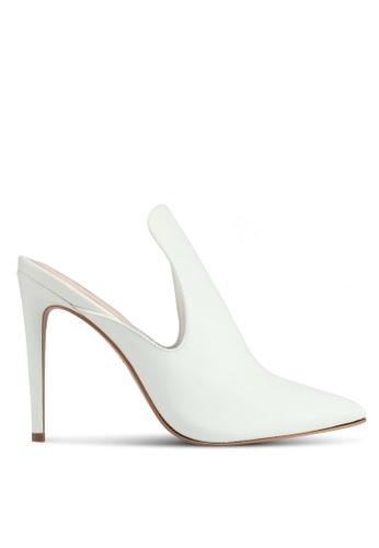 ALDO white Tenno Heeled Shoes 08D7ESH2B77222GS_1