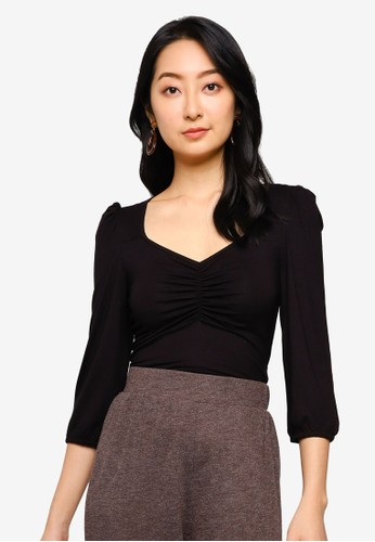 ONLY black Meya 3/4 Top 0309EAA372479AGS_1