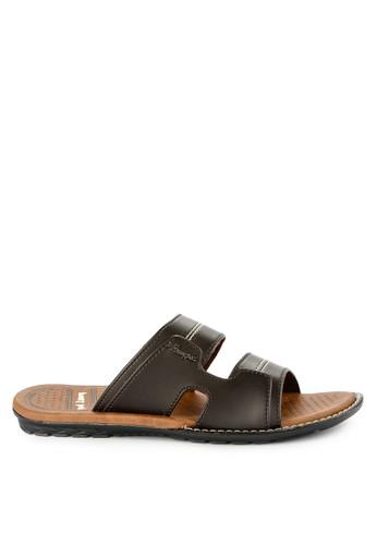 Homyped brown Panamera 02 Men Sandals F1B32SH1908827GS_1