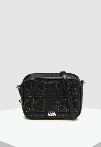 a71dc9fc8b7b Shop KARL LAGERFELD Kuilted Studs Camera Bag Online on ZALORA Philippines