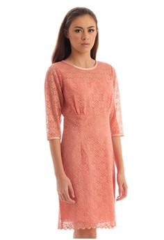 Floral Lace Sleeved Dress