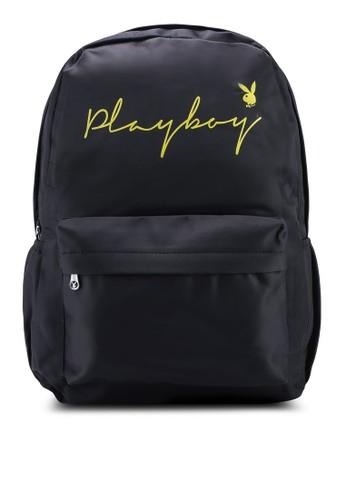 Playboy black Playboy Backpack 84894AC824FB61GS_1