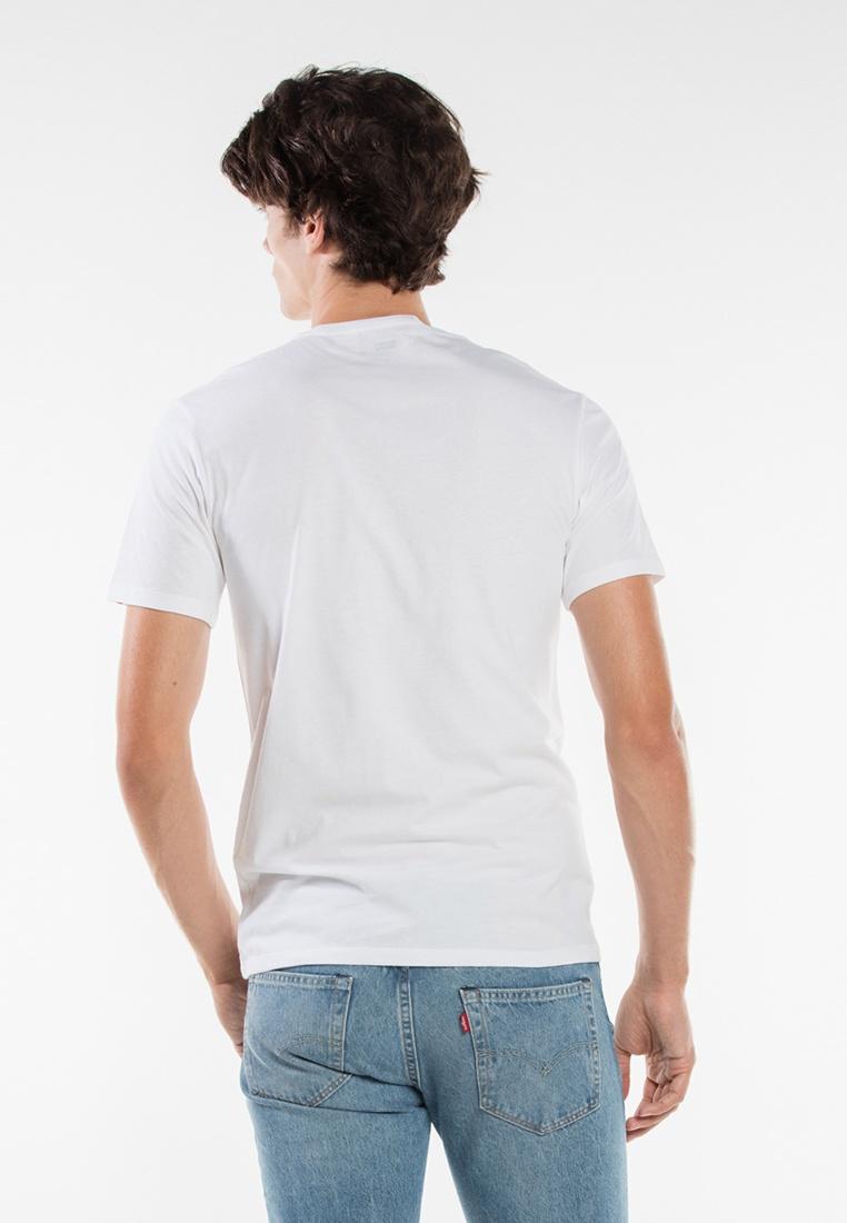 2 Levi's Levis® Fit Tees Crewneck Slim pack White wOZ1Oaq