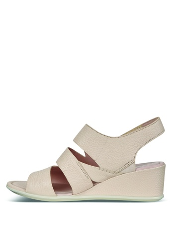 a026bfb831d1 Buy ECCO Shape 35 Wedge Sandal Vanilla Trento Online on ZALORA Singapore