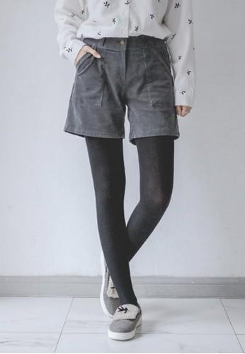 燈芯絨esprit台灣outlet迷你短褲, 服飾, 休閒短褲