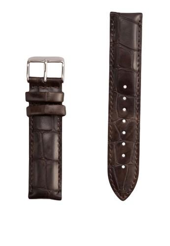 Classic York-Straesprit bagp Silver 20mm, 錶類, 飾品配件