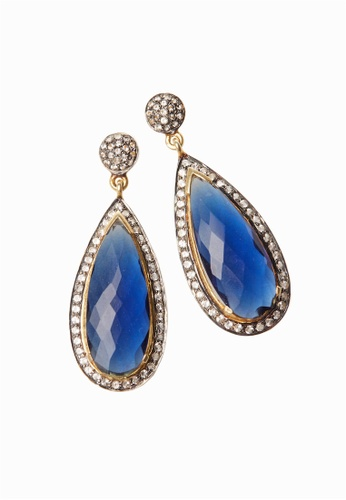 ef790a9b8 Buy SHANTAL JEWELRY White Topaz Kyanite Hydro Quartz Earring with Gold  Plated Online on ZALORA Singapore