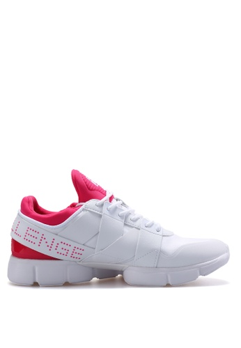 FILA white FPF TRAINING-FX CHALLENGE Traning Shoe 2F587SH72685D8GS_1