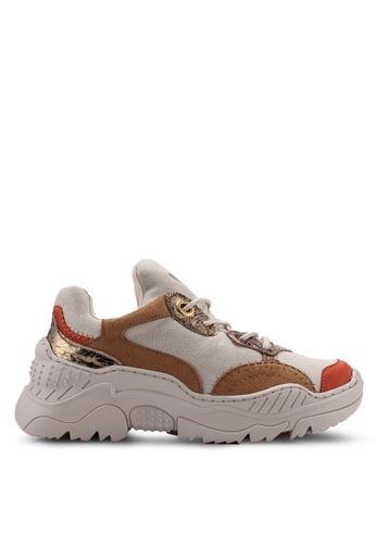 VANESSA WU red Edan Sneakers 55EA9SH75C9B6AGS_1