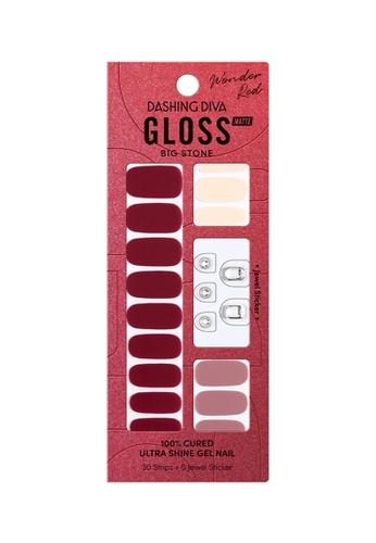 Dashing Diva red Dashing Diva Gloss Gel Strip Manicure Cheers /Nail Sticker /Nail Wraps A075ABE7B52CD8GS_1