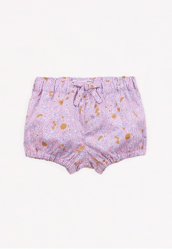Gingersnaps multi Baby Girls Printed Florals Bloomers FC47DKAEA44FDBGS_1