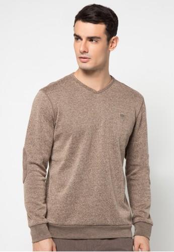 Watchout! Casual brown Sweatshirt 010 WA972AA88JXRID_1