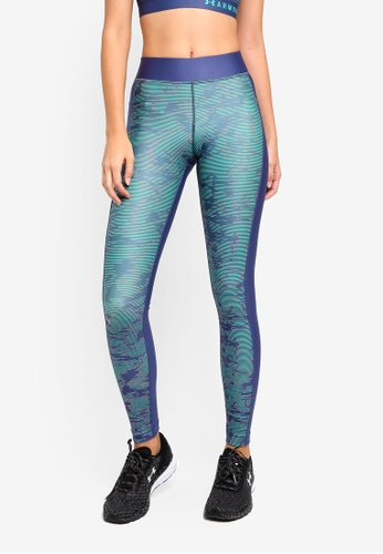 a37e6d9859069 Buy Under Armour UA Hg Armour Printed Leggings Online on ZALORA ...