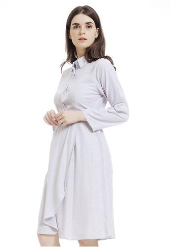 JOYFULIE blue Beatrice Dress Blue C764DAAD90F142GS_1