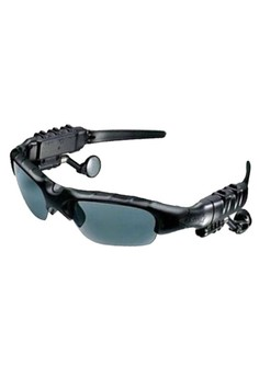 4GB Memory Bluetooth Sunglass With MP3 (Black)