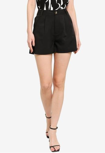 ZALORA WORK black Boxy Shorts 4FD1DAAC31C1BDGS_1