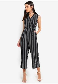 8759f571fa7 26% OFF AX Paris Black Striped Tie Waist Jumpsuit S  83.90 NOW S  61.90  Sizes 8 10 12 14