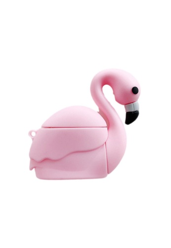 Kings Collection pink Pink Flamingo AirPods Case (KCAC2065) 162DEACABC25F1GS_1