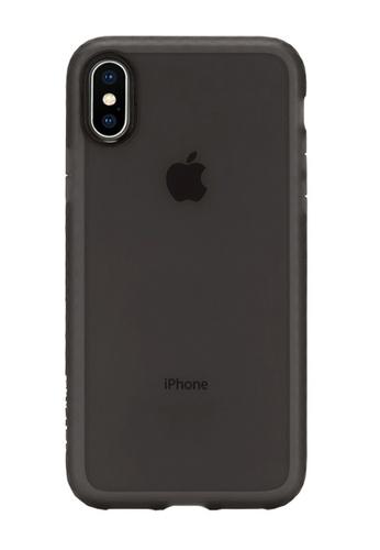 Incase black Incase INPH190381-BLK Protective Lattice Cover for iPhone X - Black Frost B7645AC0202717GS_1