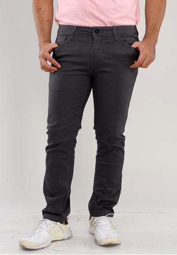 Bossini Men black Slim Tapered Casual Pants 22D1BAACE867F2GS_1