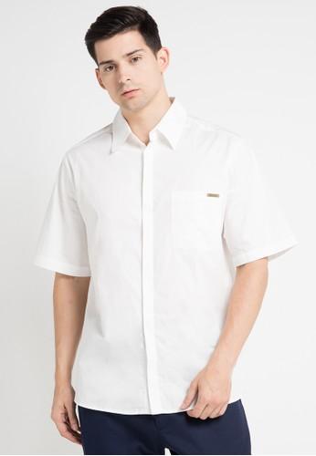 (X) S.M.L white Penn Shirt XS330AA0WE9IID_1