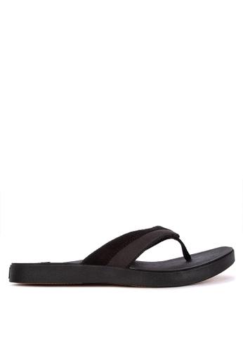 Sperry black Wahoo Sandal CD00BSH02A4291GS_1