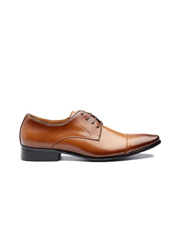 Kings Collection brown Wexford Leather Shoes 84B04SHECCDD1CGS_1