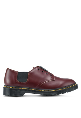 Dr. Martens red Core Fusion 1461 Gst 3 Eye Shoes DR086SH0SX6LMY_1