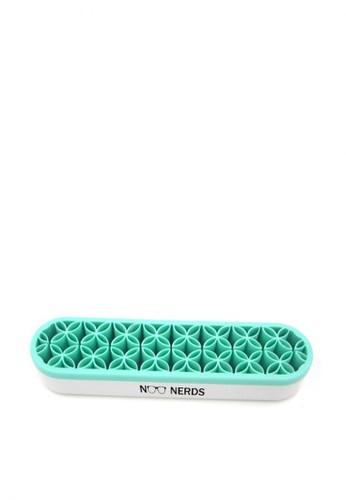 Noo nerds green NOO NERDS Brush & Makeup Silicone HOLDER / ORGANIZER 18909BE909B339GS_1