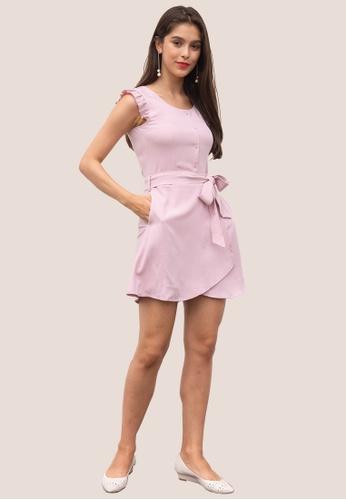 L'zzie pink LZZIE KEVA ROMPER - PINK 7A509AA8364A0AGS_1