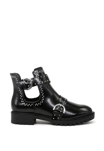 London Rag black Black Stylish Ankle Boots SH1460 7F1BASHFF87A23GS_1