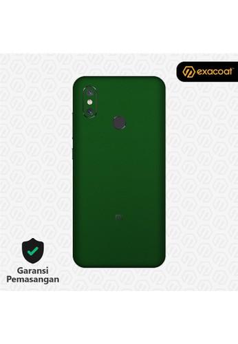 Exacoat Xiaomi Mi 8 Skins True Colors - Emerald Green 25D3BESBC7FD37GS_1
