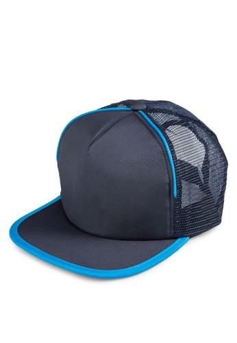 撞色滾邊運動鴨舌帽, 飾品配esprit旗艦店件, 帽飾