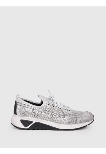 Diesel white S-Kby Slip On Shoes 4E730SH944B7BEGS_1