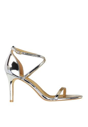 Twenty Eight Shoes silver Shiny Cross Straps Evening Sandals VP126A8 ECE5ASH8230FE5GS_1