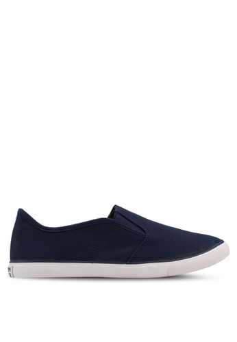North Star navy Slip On Sneakers EE7B5SH6A3B617GS_1