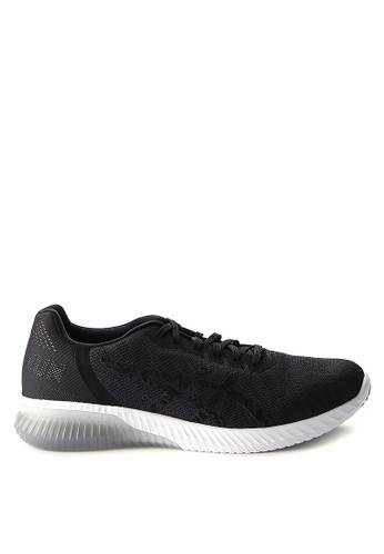 Asics black and multi Gel-Kenun Running Shoes AS436SH0WEXDID_1