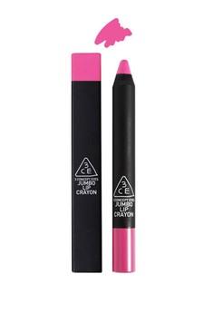 3CE Jumbo Lip Crayon - Neon pink
