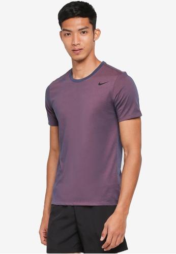 Nike black and blue Men's Nike Dry Training T-Shirt CB8B5AA0B886ABGS_1
