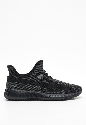 new style 769e5 b9043 Sport Lifeknit yeezy Sneaker-09931-Black
